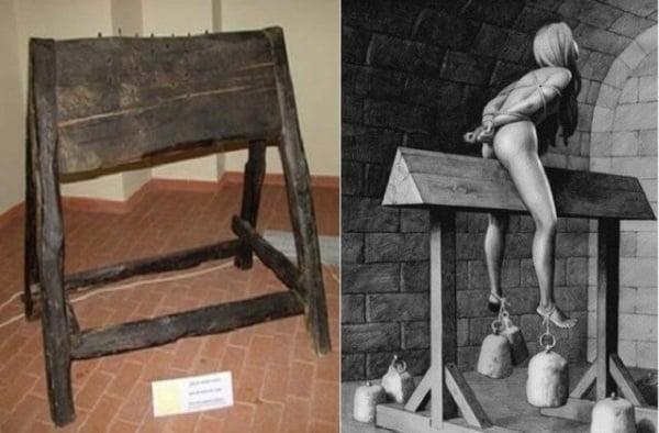 5-пыток-из-Средневековья-на-которые-детям-не-советуем-смотреть-Испанский-осел