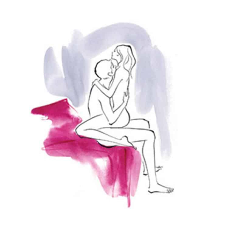 позы при занятии любви зарисовки